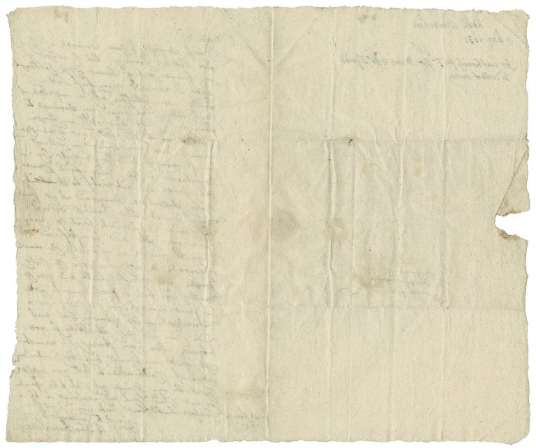 Bourchier, Anthony. Letter. To Sir Robert [i.e., George?] More.