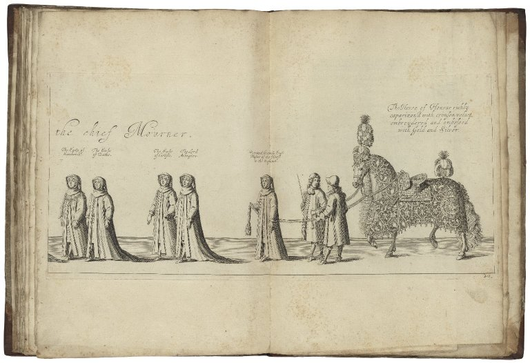 The order and ceremonies used for, and at the solemn interment of the most high, mighty and most noble Prince George...