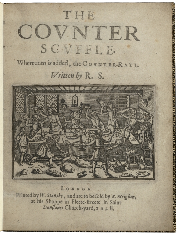 The counter scuffle· Whereunto is added, the counter-ratt. Written by R.S.