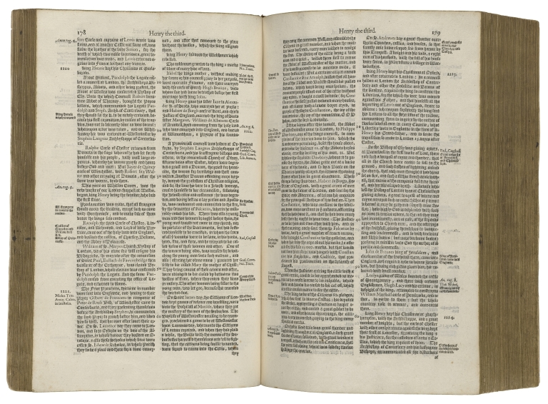 The annales, or a generall chronicle of England, begun first by maister Iohn Stow, and after him continued and augmented with matters forreyne, and domestique, auncient and moderne, vnto the ende of this present yeere 1614. by Edmond Howes, gentleman.