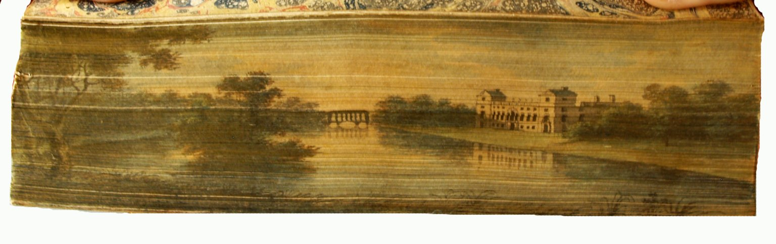 Fore-edge painting, PR2752 1797a Sh.Col. vol.4 copy 1