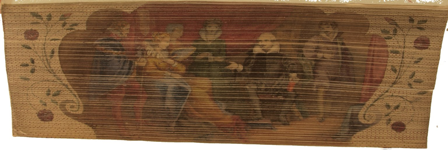 Fore-edge painting, PR 2752 1849c copy 1 Sh. Col.