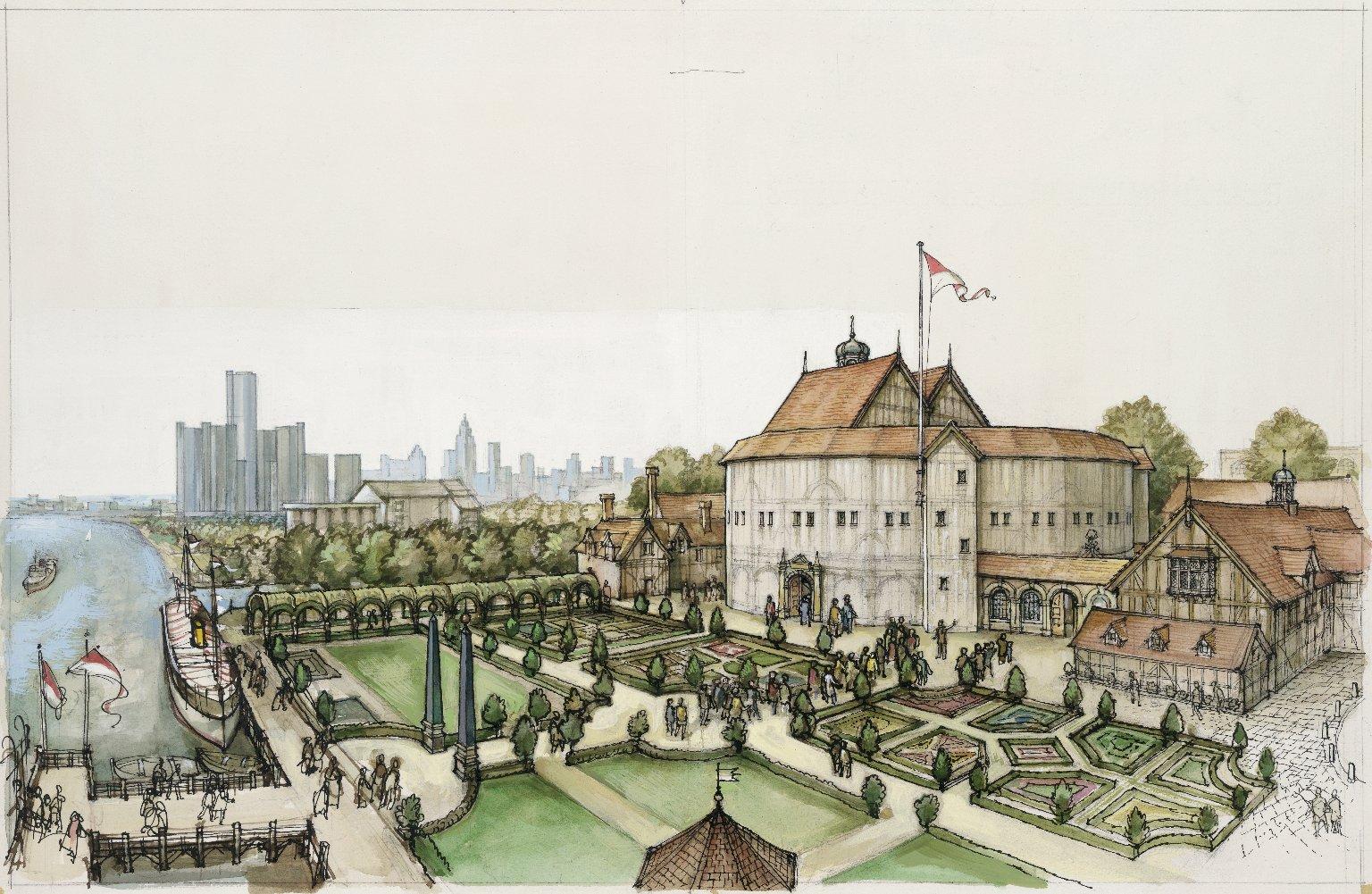 Shakespeare's Globe in America…