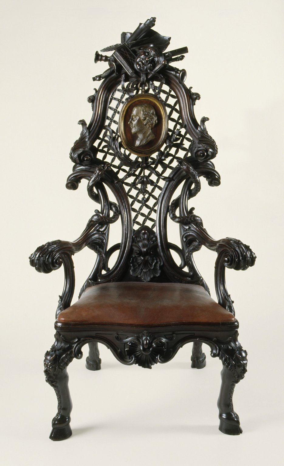 The President's Chair of the Shakespeare Club