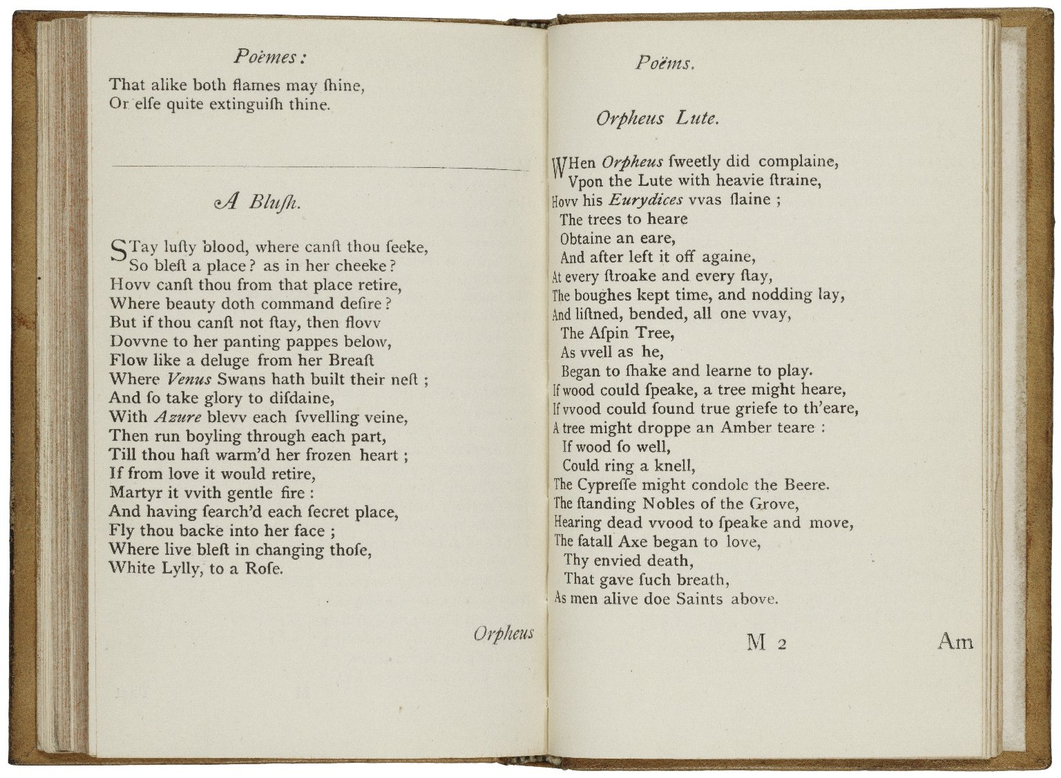 [Poems. 1640] Poems / vvritten by Wil. Shake-speare. Gent.