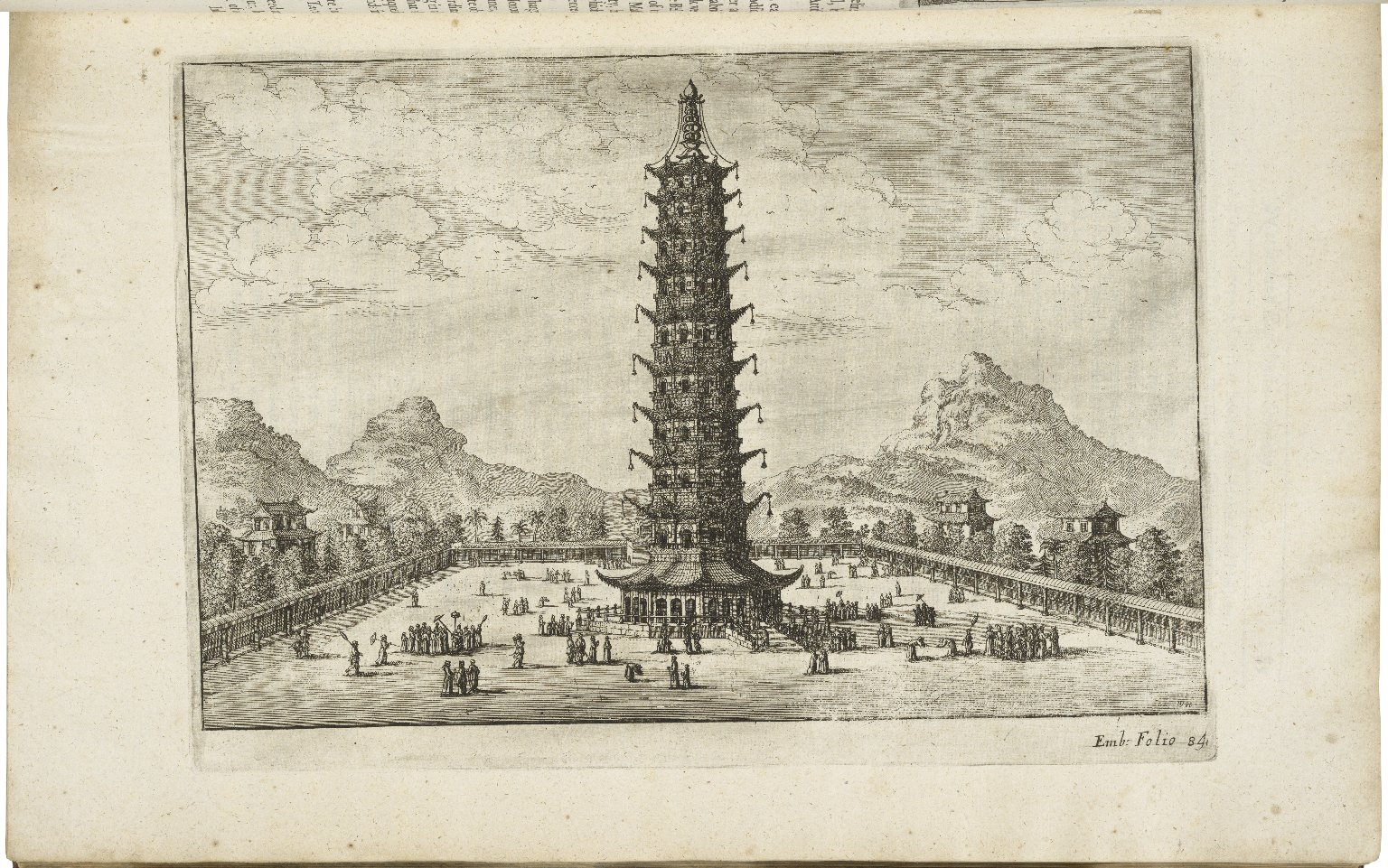 [Gezantschap der Neerlandtsche Oost-Indische Compagnie aan den grooten Tartarischen Cham, den tegenwoordigen keizer van China. English] An embassy from the East-India Company of the United Provinces, to the Grand Tartar Cham Emperor of China ...
