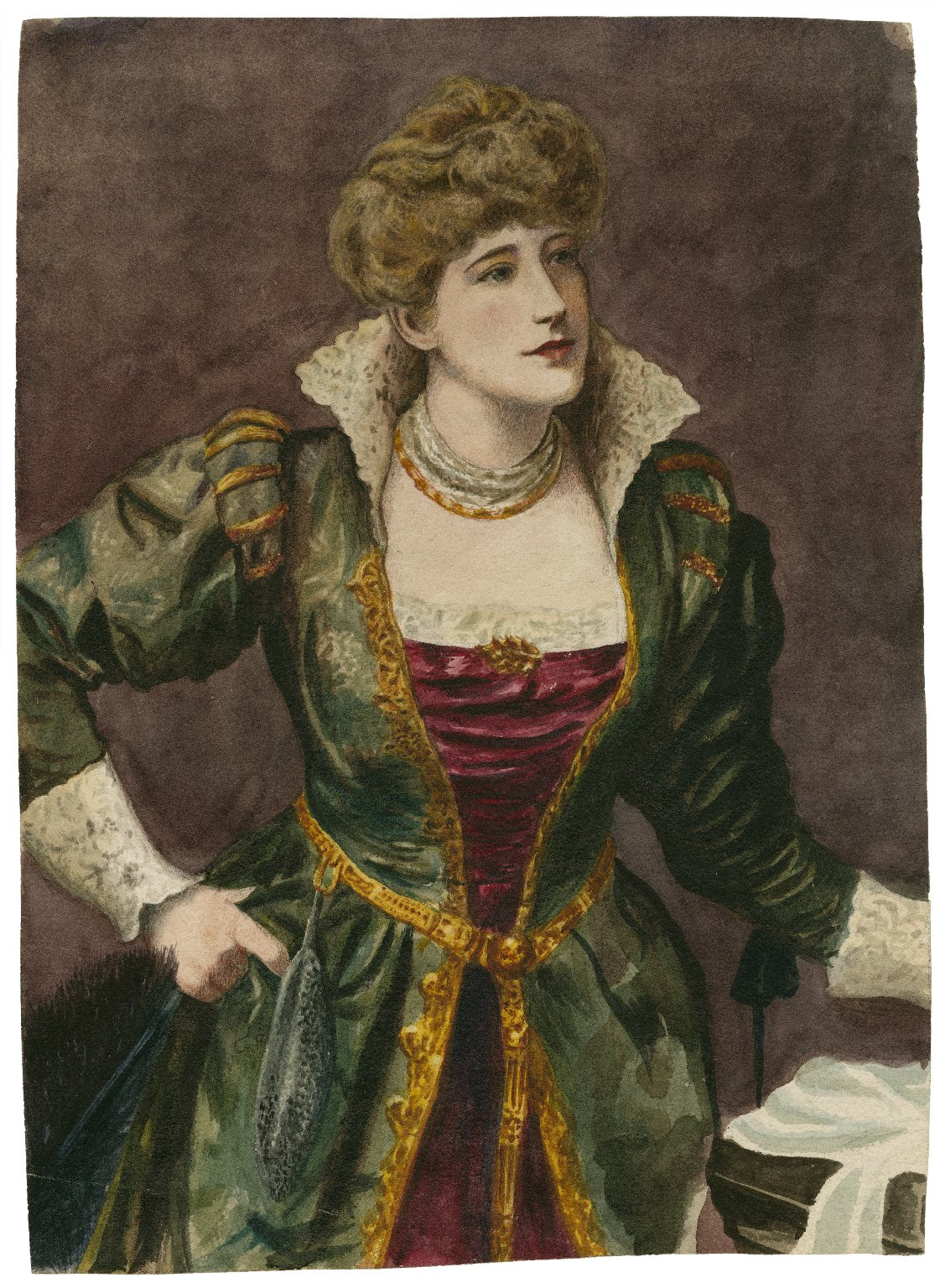 Ellen Terry as Beatrice [in Shakespeare's Much ado about nothing] [graphic].
