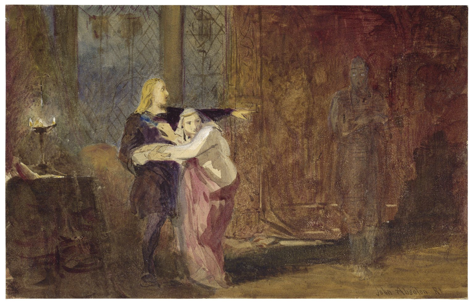 [Mr. Edmund Kean as Hamlet] [graphic] / John Absolon R.I.