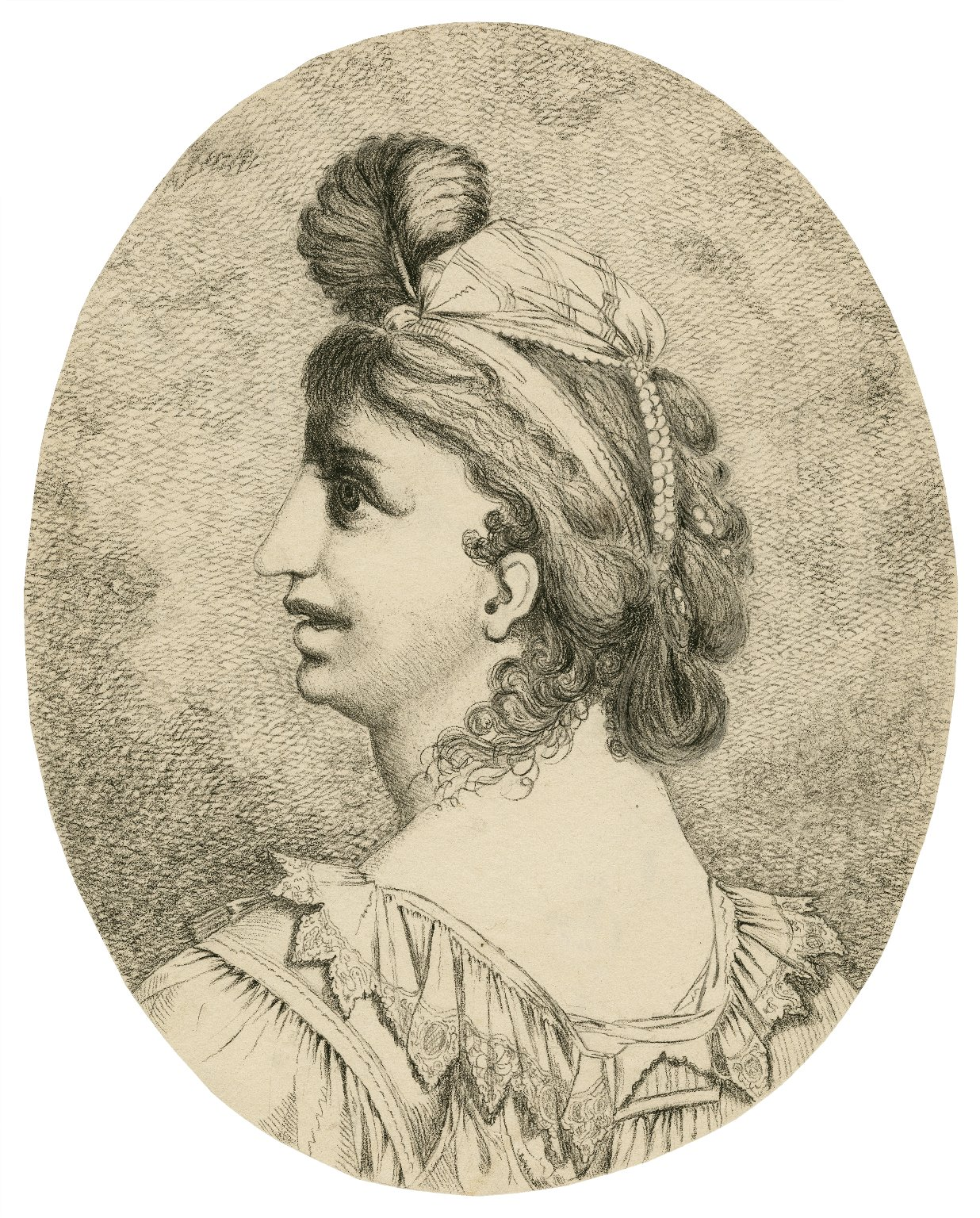 [Much ado about nothing, portrait of Beatrice] [graphic] / [John Hamilton Mortimer].