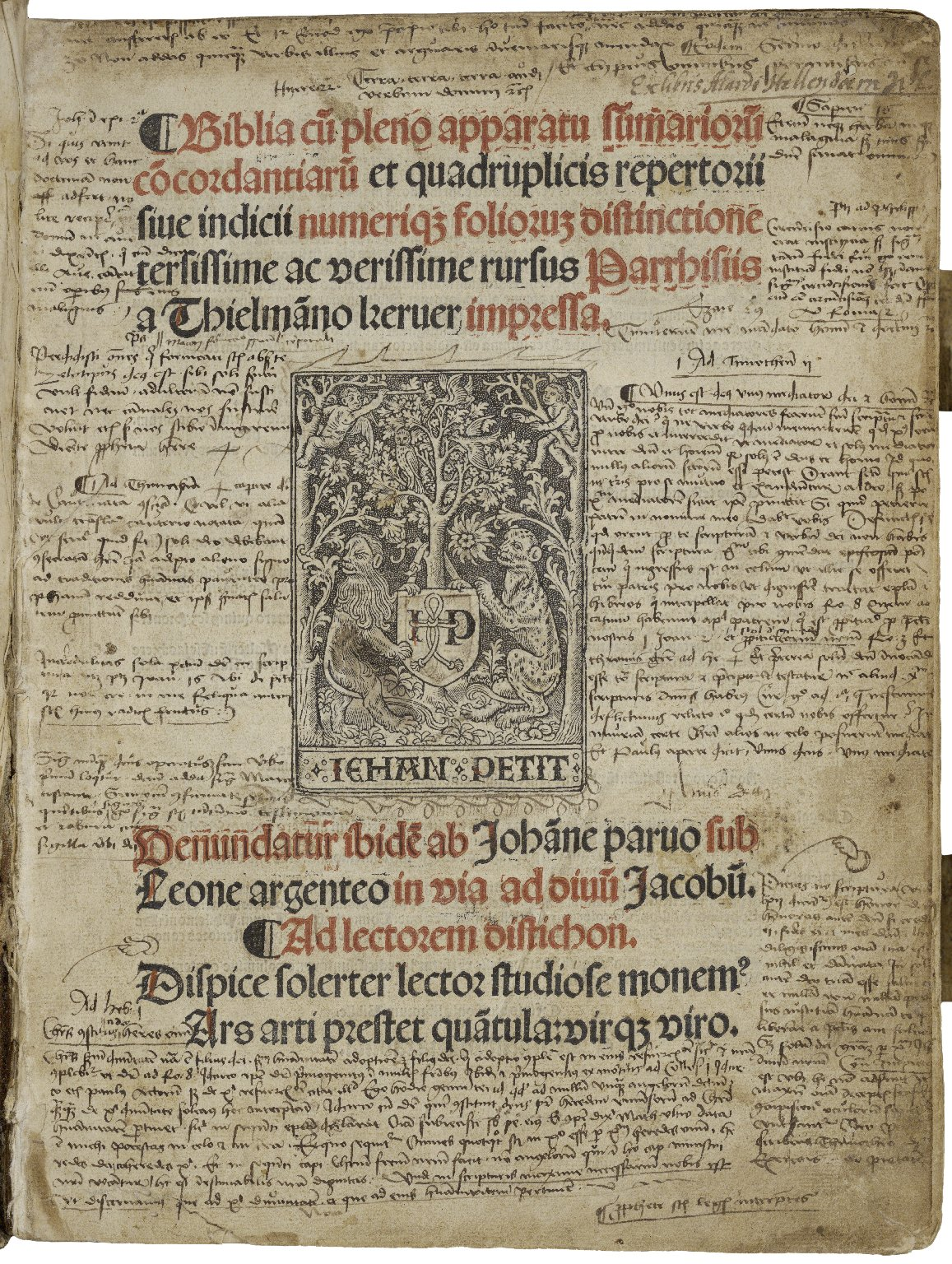 Bible. Latin. 1505.