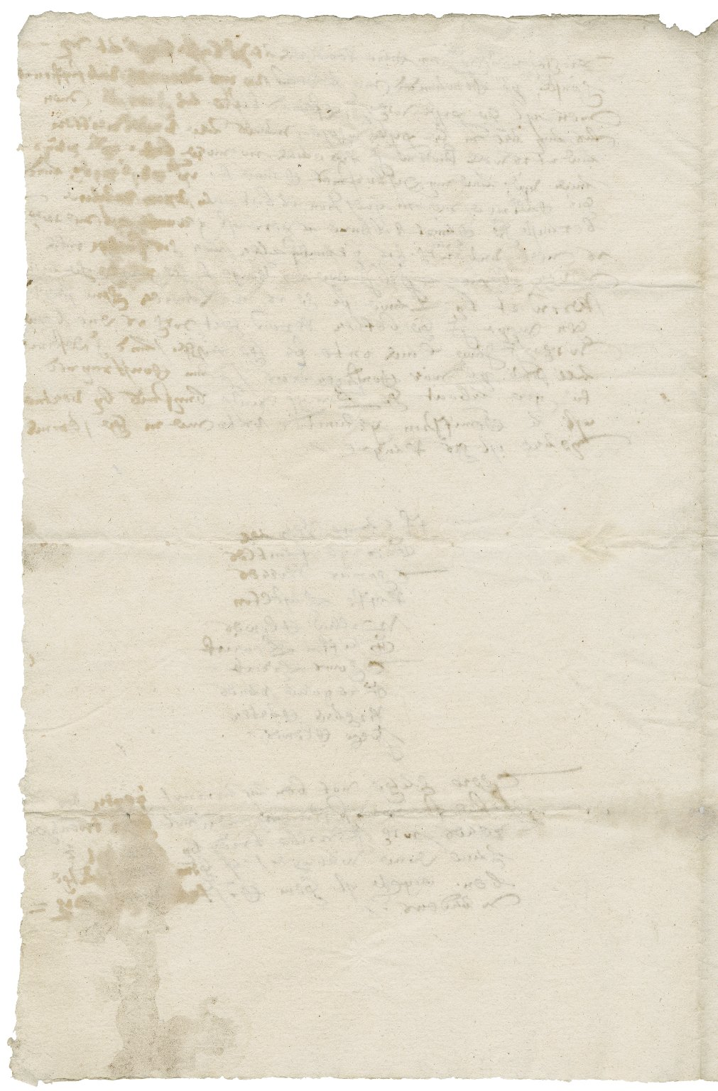 Letter from Powell to Walter Bagot