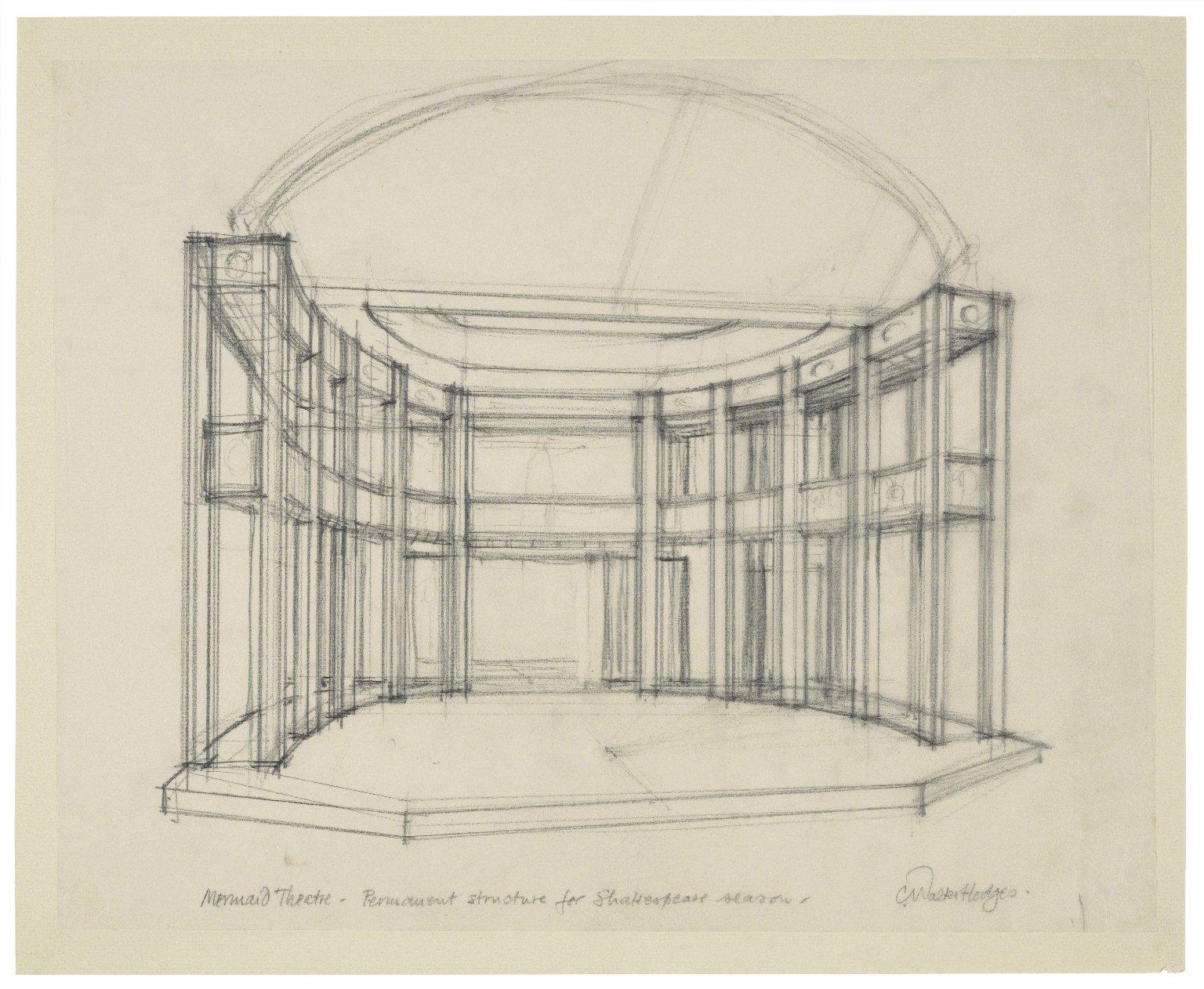 Permanent set structure design for Mermaid theatre