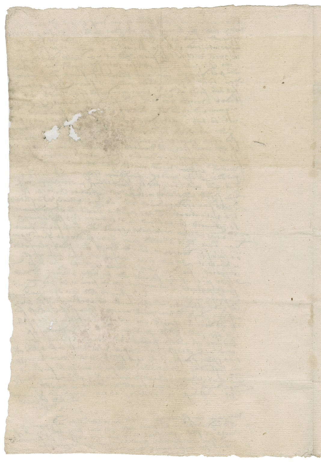 Letter from Edward Clere to Nathaniel Bacon : copy