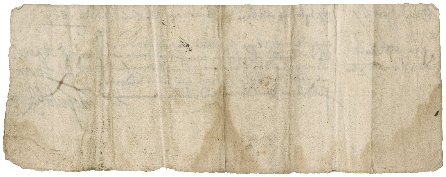 Rent receipt from John Knighton