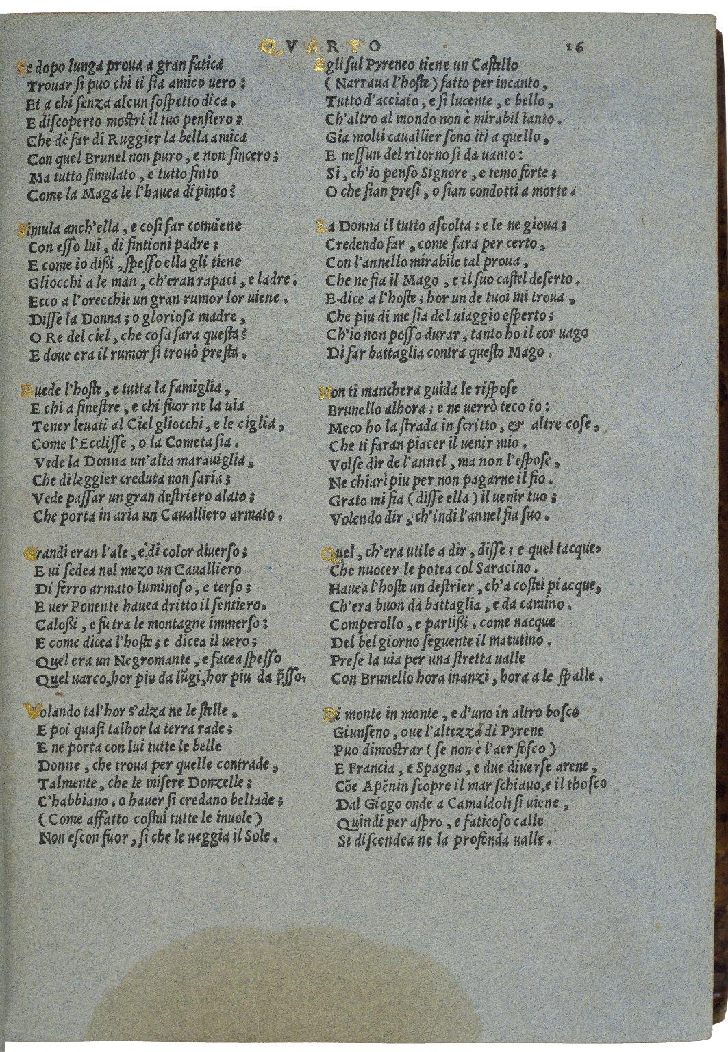 Orlando Furioso / di m. Ludovico Ariosto ...