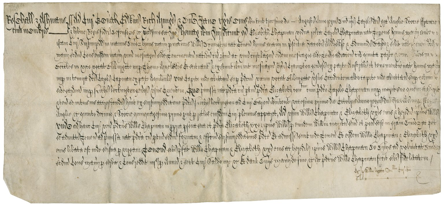 Court roll of the Manor of Roos Hall (Rosehall) and Ashmans, Suffolk : copy