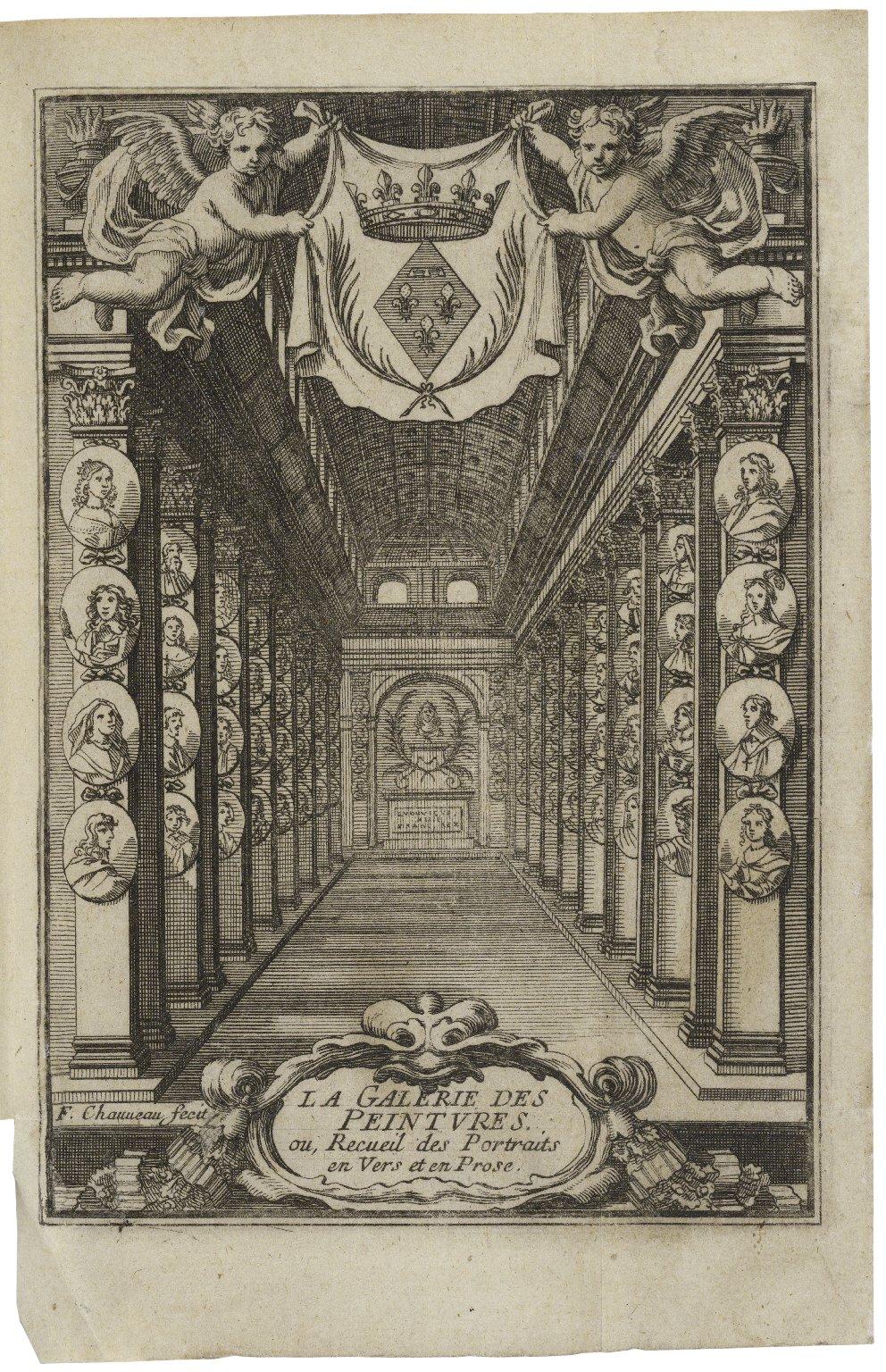 La galerie de peintures, ou, Recueil des portraits et eloges en vers et en prose ...