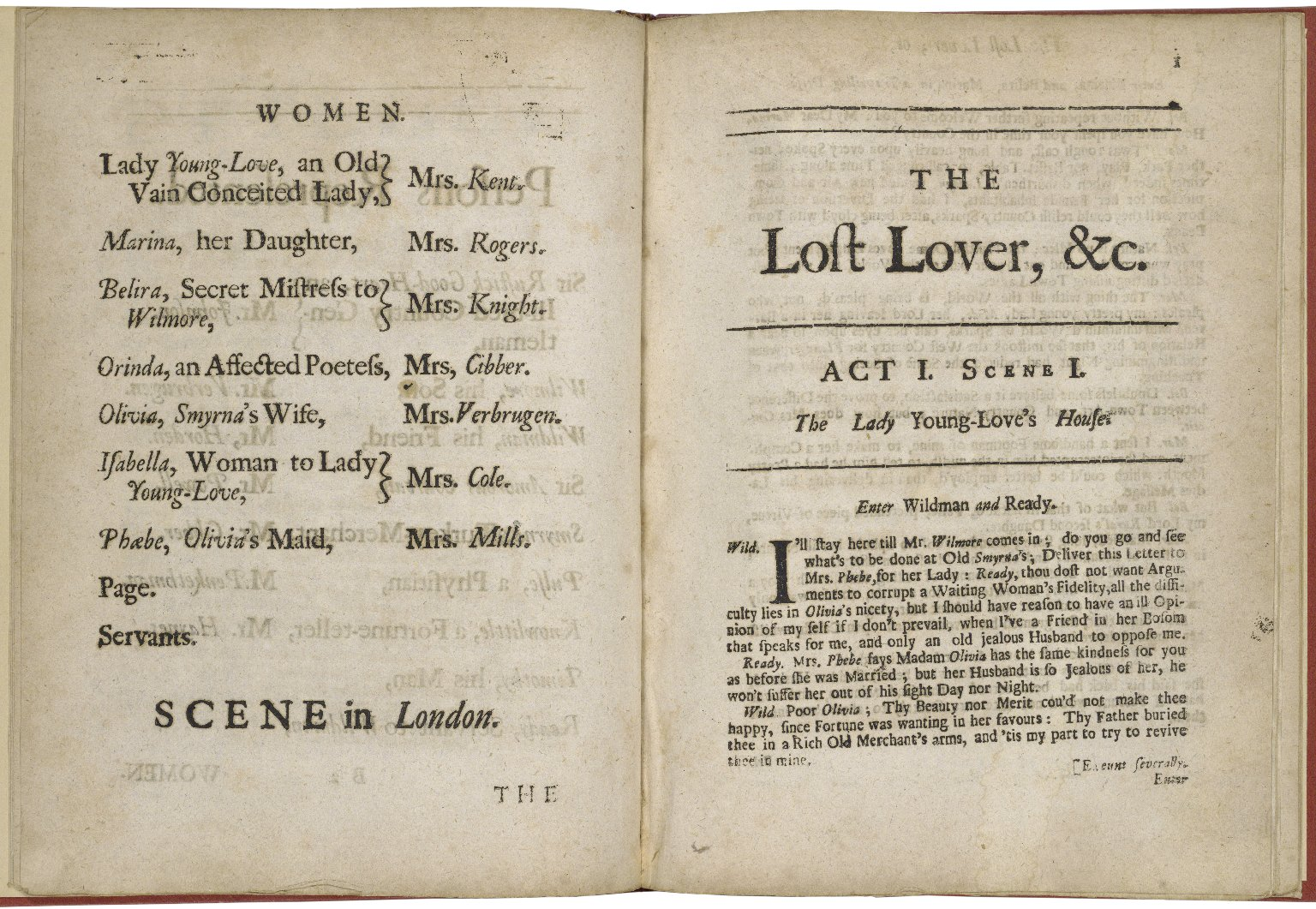 The lost lover; or, the jealous husband: a comedy. As it is acted at the Theatre Royal by His Majesty's Servants. Written by Mrs. Manley.