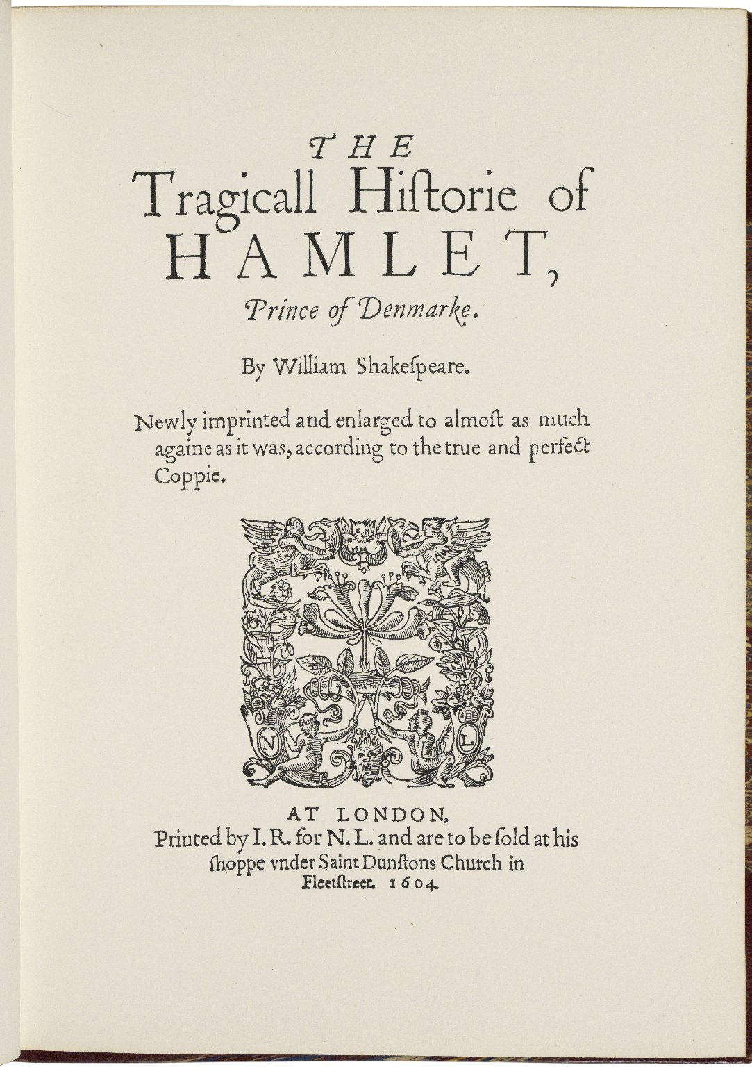 A collection of lithographic facsimiles of the early quarto editions of the separate works of Shakespeare : including every known edition of all the plays which were issued during the lifetime of the great dramatist / by Edmund William Ashbee ; in forty-eight volumes.