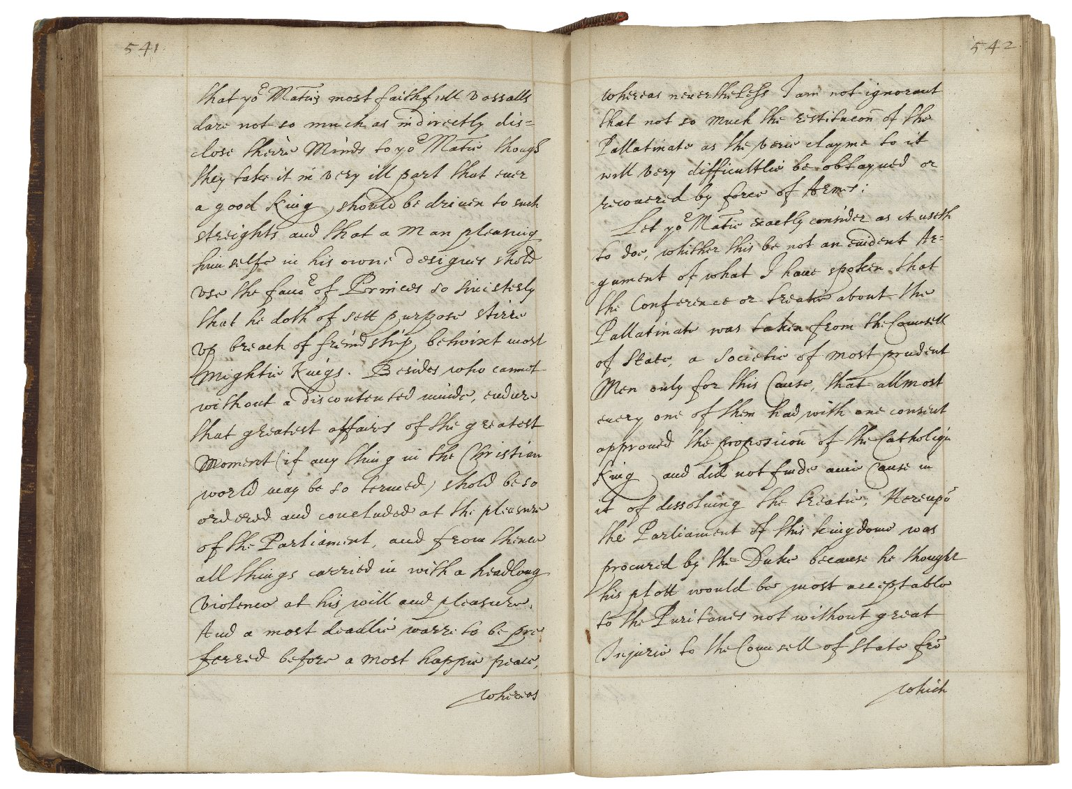 State letters from 1533 to ca. 1630 [manuscript], copied ca. 1650.