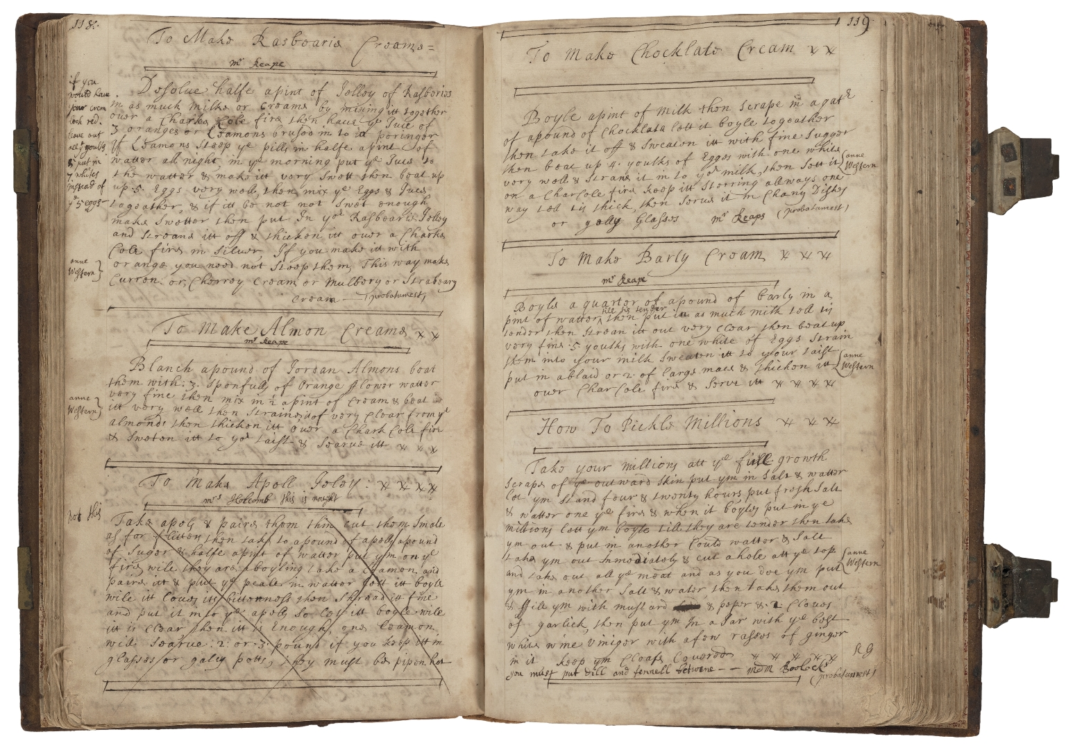 English cookery and medicine book, [manuscript].