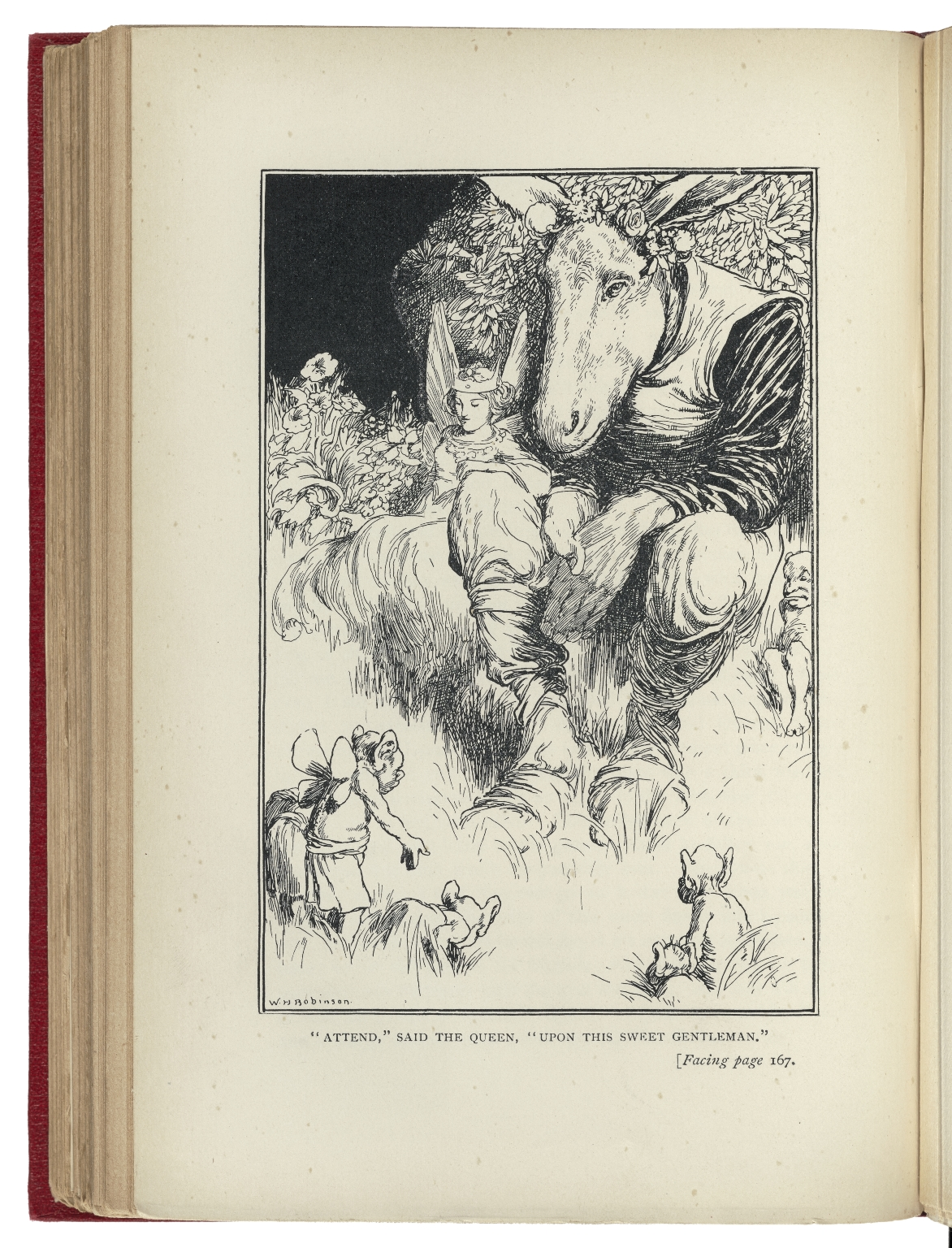 Tales from Shakespeare / by Charles Lamb ; with sixteen full page illustrations by W.H. Robinson.