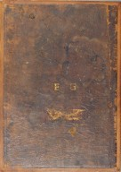 Doublure from original 17th century cover (back cover), STC 20477 copy 3.