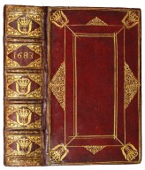 Spine and front cover, A1916.