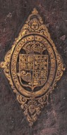 Coat of arms (detail), STC 20063 c.3.