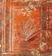 Fleur-de-lys (detail), INC H419.
