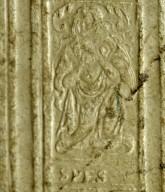 Spes figure roll (detail), INC J162.