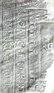 Decorative roll rubbing, STC 1410.