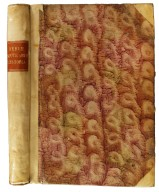 Decorative paper on front cover and spine, STC 3992 copy 2.