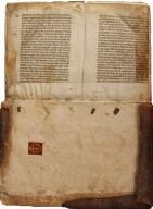 Front manuscript flyleaf, STC 4446a copy 3.