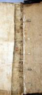 Inner manuscript guard and lacing, STC 3827.
