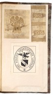 Vellum framents of original vellum binding, STC 603.2.