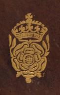 Crowned Tudor rose (detail), STC 4632.2.