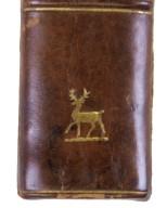 Spine stamp detail