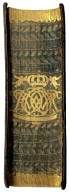 Gilt and gauffered fore-edge, BS239 L8 1545 Cage