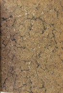 Inside front cover marble paper, V.a. 165.