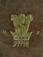Center armorial badge (detail), V.a.486.