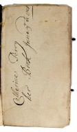 Early owner's inscription, 267233.
