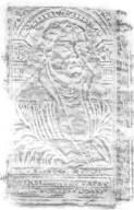 Back cover center panel rubbing, BR336 A1 1562 Cage fo. Vol. 1.