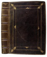Front cover and spine, V.b.133.