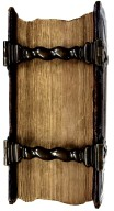 Fore-edge and clasps, RD30 V6 1668 Cage.