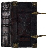 Spine, front cover, and clasps, CJ73.N27 1575 Cage.