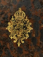 Coat of arms (detail), E1245.5.
