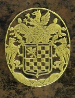 Coat of arms (detail), DC801 B72 L8 1619 cage.
