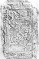 Front cover panel rubbing, PA8135 A1 C6 1540 cage.