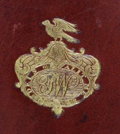 Front cover coat of arms (detail), 163- 594q.